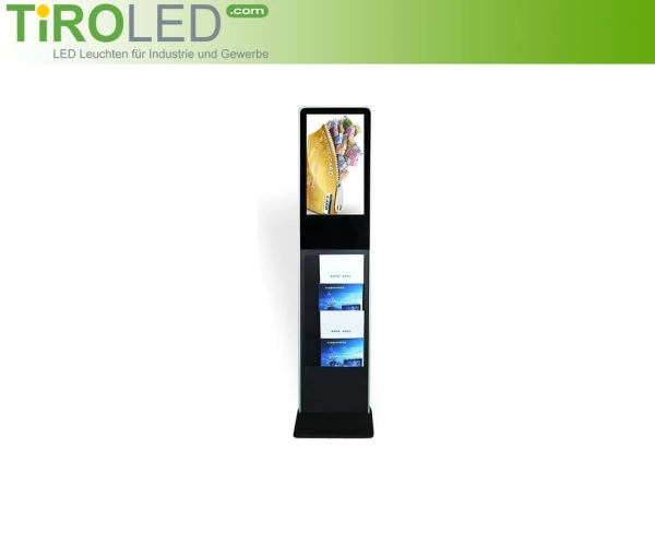 "21,5 Zoll Digital Signage mit Prospekthalter | Full HD Touchscreen | Android | ""Stella Touch 1.1"" by Tiroled"